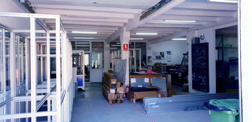 Hala industriala de inchiriat in zona Aeroport / Autostrada